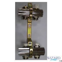 Колекторна група з вимикачами і термо клапанами м30х1,5, 6 вих., фото 2