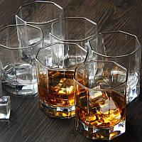 "Набір склянок восьмигранних 285 мл ""Pub"" Pasabache 6 шт."