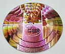 Стойка подставка фуршетная для пирожных капкейков трехъярусная Ø 20, 25, 30, фото 7