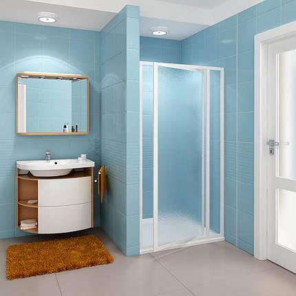 Душевые двери RAVAK серии SDOP-90 (Grape) White 03V70100ZG, фото 2