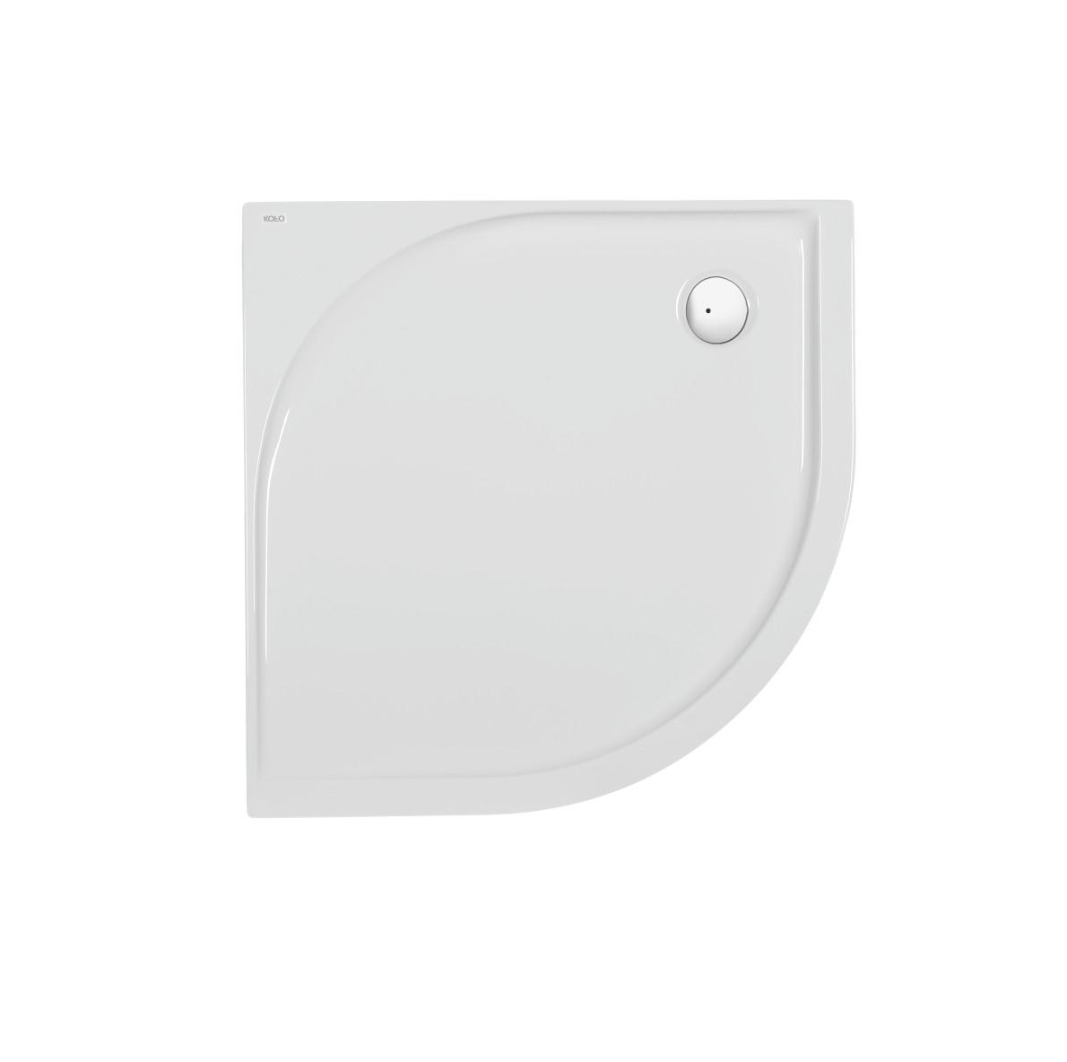 Pacyfik Поддон полукруглый 90x90 см, глубина 5 см, выпуск 90 мм