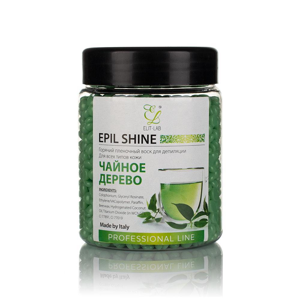 Горячий пленочный воск в баночке Elit-lab, Europe 100 гр - Зеленый чай