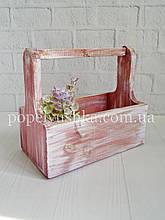 Ящик прямокутний дерев'яний