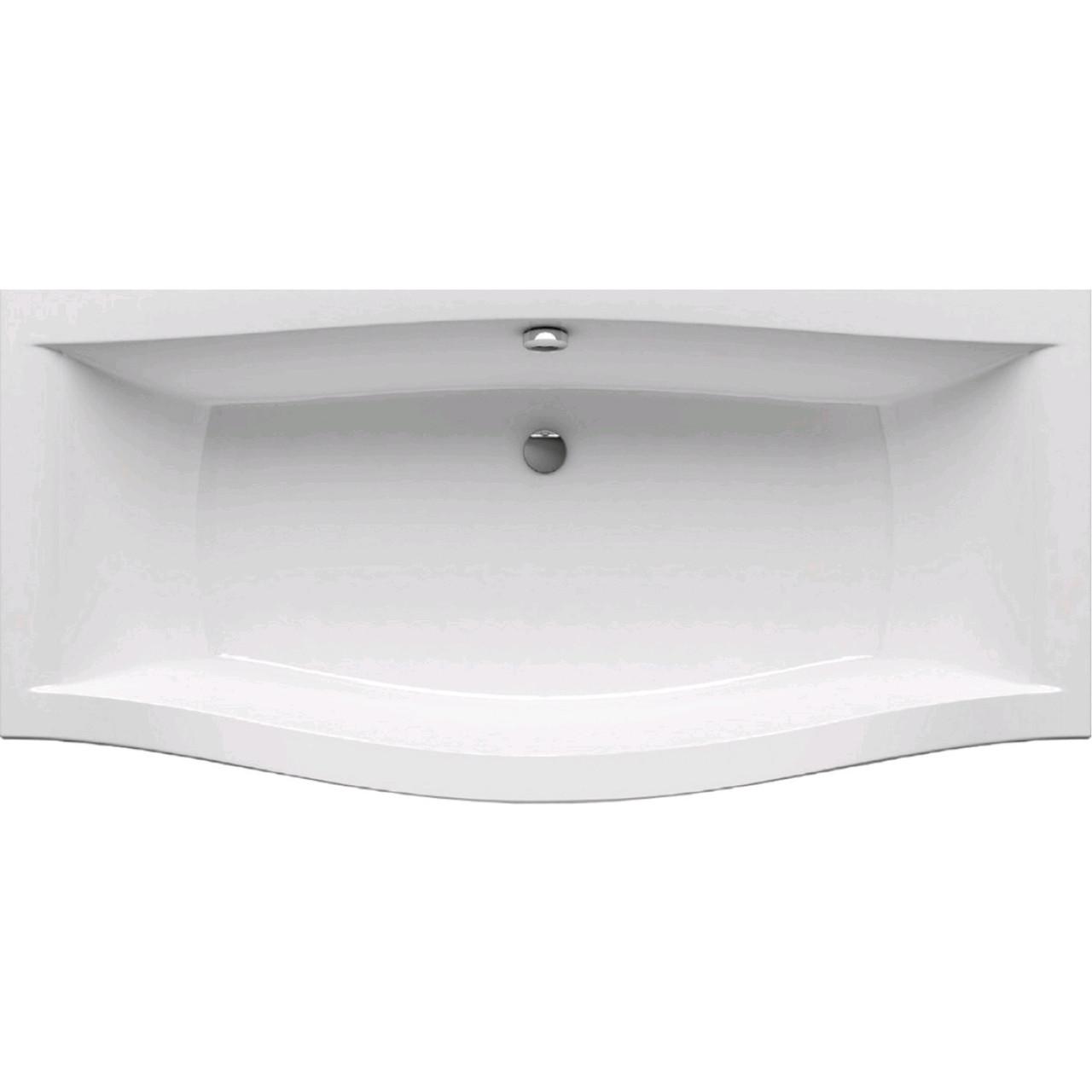 Асимметричная акриловая ванна RAVAK серии Magnolia 1,8х0.75 C601000000