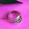 Серебряное кольцо без камней - Женское серебряное кольцо, фото 7