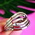 Серебряное кольцо без камней - Женское серебряное кольцо, фото 2