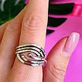 Серебряное кольцо без камней - Женское серебряное кольцо, фото 6