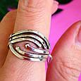 Серебряное кольцо без камней - Женское серебряное кольцо, фото 4