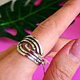 Серебряное кольцо без камней - Женское серебряное кольцо, фото 3