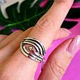 Серебряное кольцо без камней - Женское серебряное кольцо, фото 5