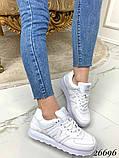 Очень крутые белые  женские кроссовки, фото 4