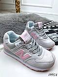 Очень крутые белые  женские кроссовки, фото 9