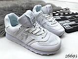 Очень крутые белые  женские кроссовки, фото 10