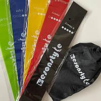 🍓Комплект резинок для фитнеса Esonstyle 5 в 1/ фитнес резинки, эспандеры, тренировочные ленты👟набор резинок