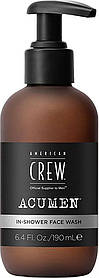 Гель для умывания лица American Crew In-Shower Face Wash 190 мл