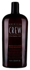 Шампунь для щоденного використання глибокого очищення American Crew Classic Power Cleanser Style 1000 мл