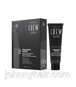 Фарба-система маскування сивини American Crew (2-3) Dark 3*40мл