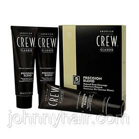 Фарба-система маскування сивини American Crew (7-8) Light 3 * 40 мл