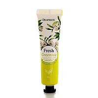 Парфумований крем для рук Deoproce Perfumed Hand Cream Зелений чай 30 г