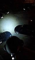 Фары светодиодные / LED/ 12W 6 на 7 см. яркие с/х техники 12-24 вольт, фото 2
