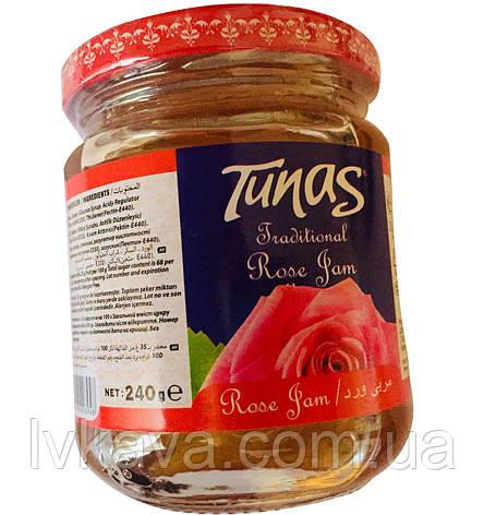 Джем розовый Tunas , 240 гр, фото 2