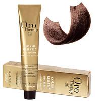 Безаммиачная крем-краска для волос Fanola Oro Therapy №5/3 Light Chestnut Golden 100 мл