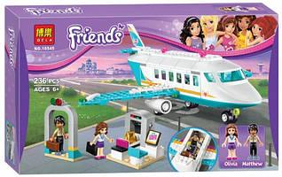 """Конструктор лего френдс Bela Friends 10545 """"Частный самолет"""" (аналог LEGO Friends 41100) 236 дет"""
