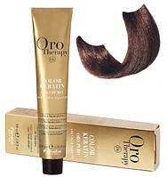 Безаммиачная крем-краска для волос  Fanola Oro Therapy №6/14 Bitter Chocolate 100 мл