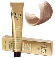 Безаммиачная крем-краска для волос Fanola Oro Therapy №9/0 Very light blonde 100 мл