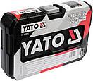 Набор головок ключей инструментов 56 шт Yato YT-14501 Польша, фото 6