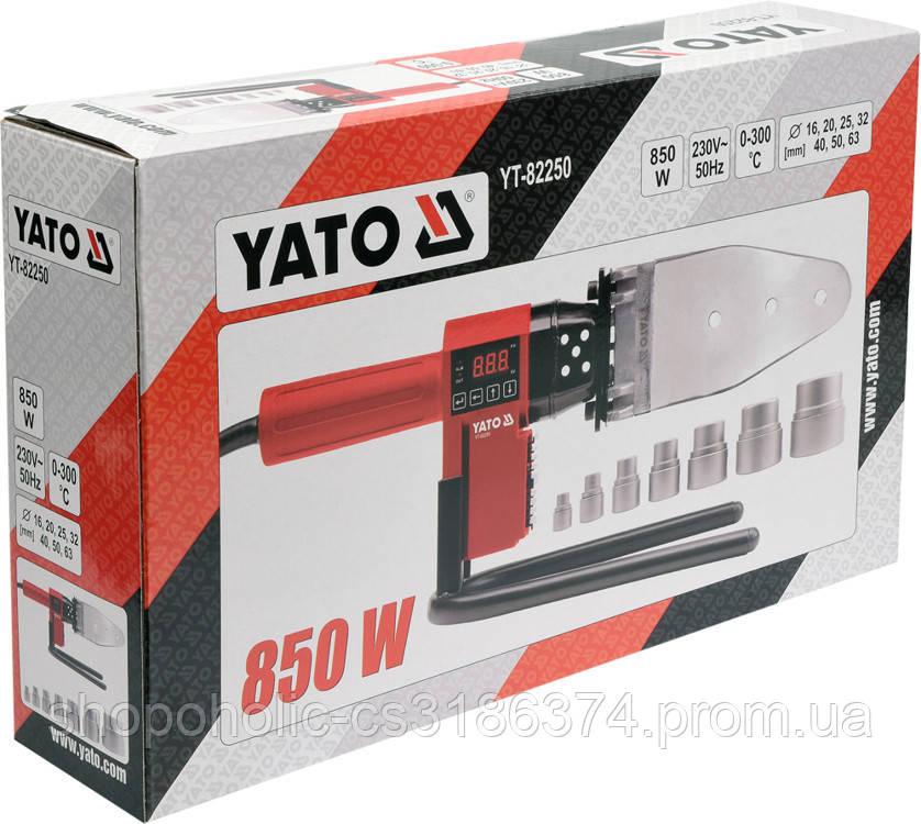 Паяльник для термопластиковых труб YATO YT-82250