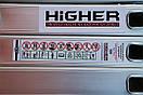 Лестница трансформер Higher 4x4  4-х секционная алюминиевая универсальная раскладная  16 ступ. 4.6м Польша, фото 6