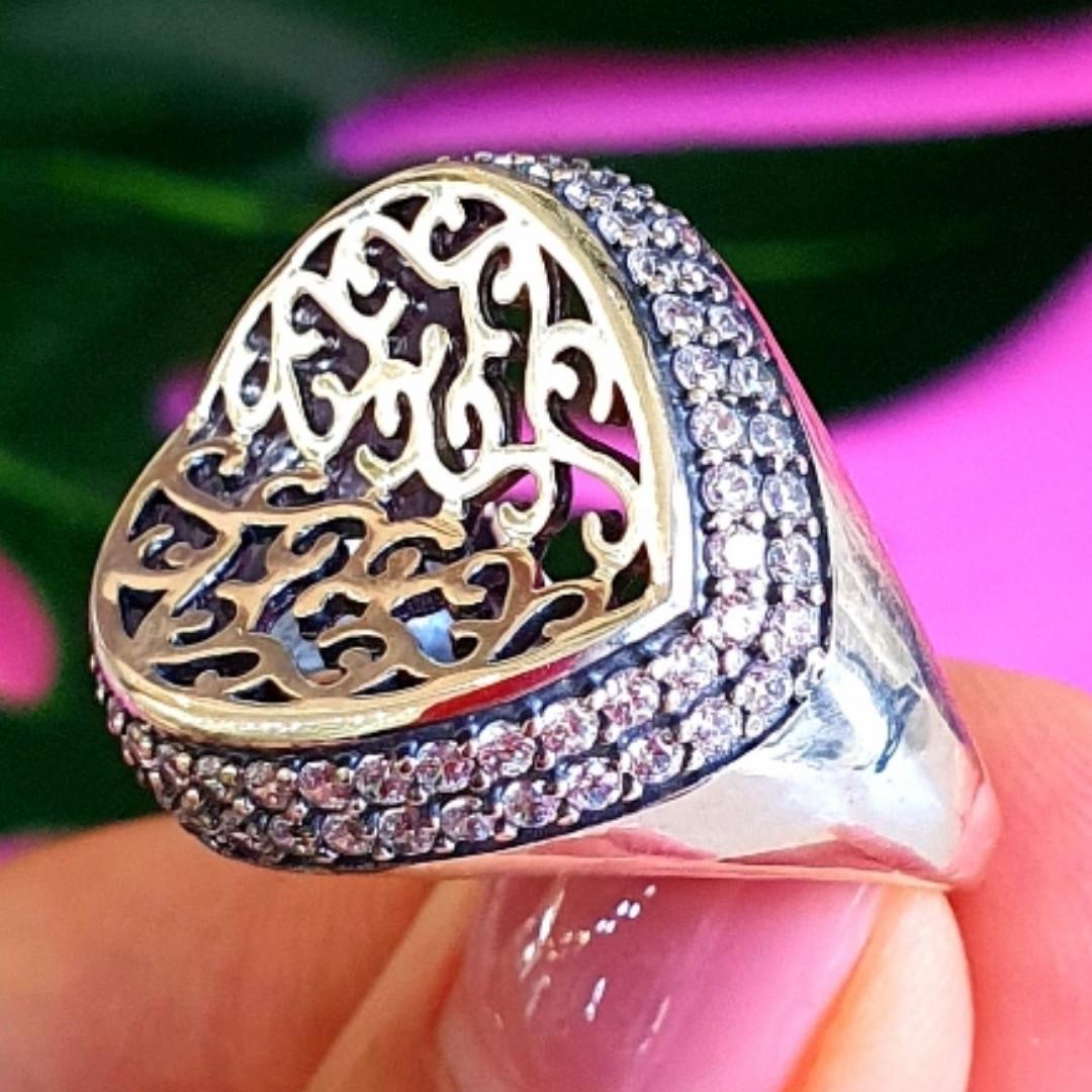 Оригинальное серебряное женское кольцо