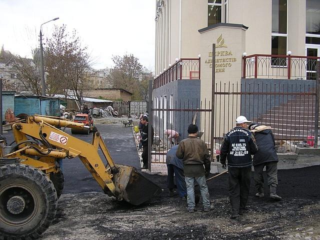 Асфальтирование  Киев, асфальтобетонные работы