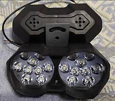 Фары LED 30W мощные светодиодные 15 на 7 см двойные 12-24V с/х техники, фото 3