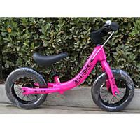 Беговел 12 дюймов Profi Kids W 1202-2 резиновые колеса