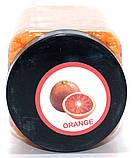 Воск в гранулах (банка) апельсиновый 300 г, фото 3