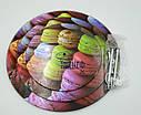 Стойка подставка фуршетная для пирожных капкейков трехъярусная Ø 20, 25, 30, фото 4