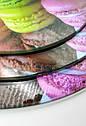 Стойка подставка фуршетная для пирожных капкейков трехъярусная Ø 20, 25, 30, фото 6