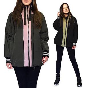 Стильная Куртка Парка Бомбер - TONGCOI. Гарантия высокого качества и стиля! Р-ры 42-48