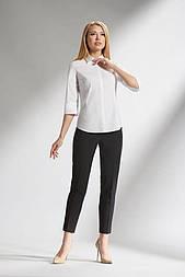 Классическая женская белая блуза Lesya ВЛАДА