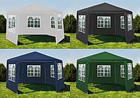 Садовый павильон 2x2x2м 6-секционный Садовий павільйон Палатка торгова Намет Шатёр торговые палатки тенты