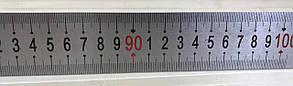 Линейка металлическая 1м, нержавейка 1003812, фото 2