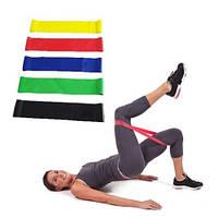 Набор Лент Эспандеров Резинок Для Фитнеса Fit Simplify 5 шт, фото 1