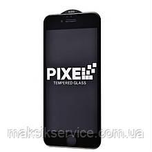 Защитное стекло Full Screen  Iphone 6/6s Pixel black, white