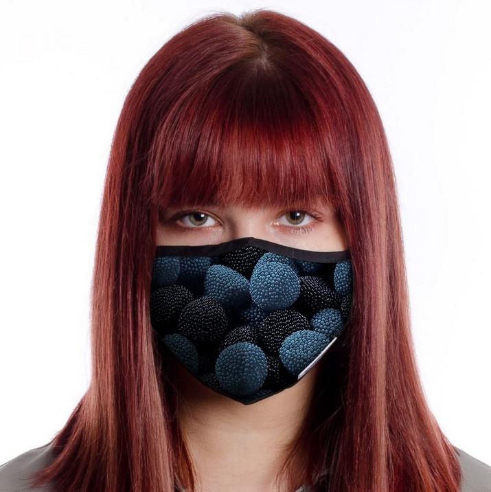 Защитная маска для лица многоразовая (хлопок, с карманом)