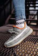Стильные кроссовки Adidas Yeezy Boost 350 V2 Linen Revealed(Адидас Изи Буст 350), фото 1