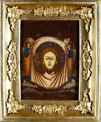 Ікона Спас нерукотворний 19 століття Росія, фото 2