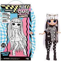 Лялька LOL OMG Неонової серії Груви Бейб ОМГ світиться L. O. L. Surprise O. M. G. Lights Groovy Babe Fashion Doll