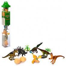Динозавры в колбе Metr+ 9689-20 Разноцветный